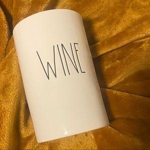 """New Rae Dunn Ceramic """"Wine"""" Cooler"""